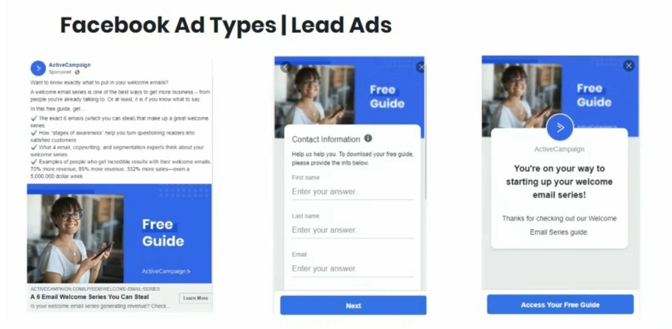 Rédaction publicitaire pour une publicité de type Génération de Prospect