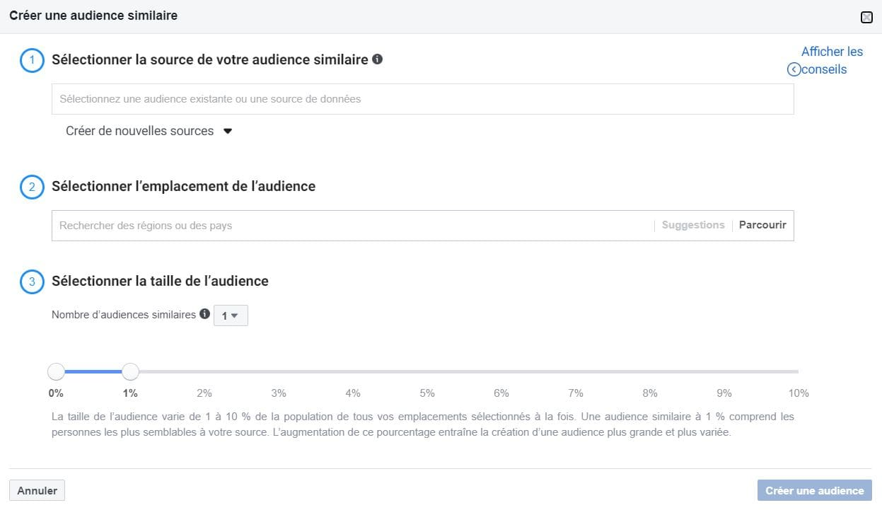 L'audience similaire, cet outil incontournable disponible via Facebook Business
